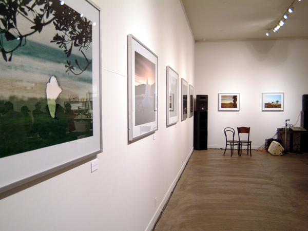 """DAVID SIMMONDS """"HOME OUTSIDE"""" EXHIBITION"""