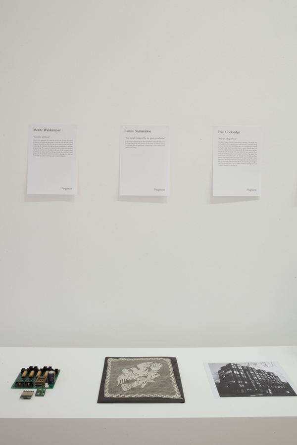 "UK / JP DESIGN EXHIBITION ""Mark-ing"" Co-Sponsored with BRITISH COUNCIL / Gallery Libby Sellers"