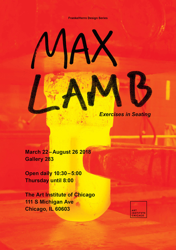 "EVENT|""Exercises in Seating"" by Max Lamb"